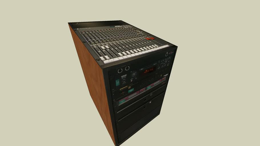 Audio capture desk