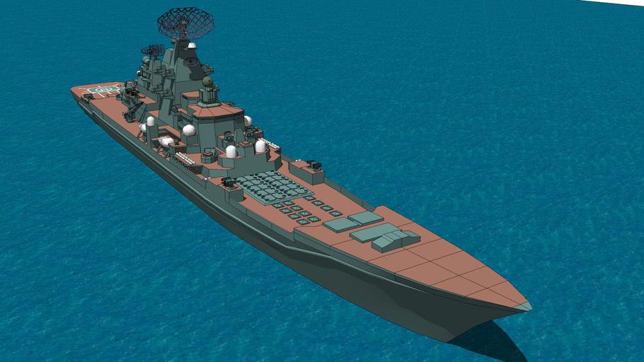 俄罗斯海军基洛夫级核动力导弹巡洋舰