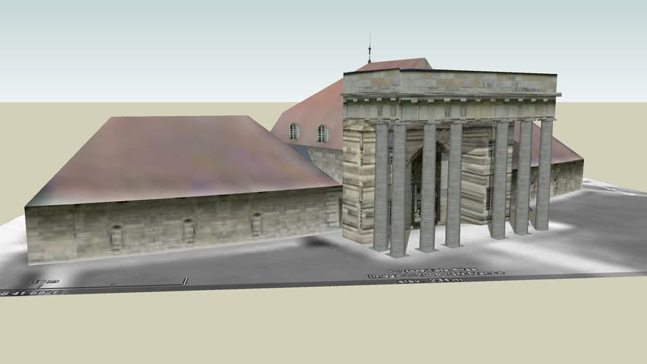 """saline royale d'arc et senans """"Pavillon d'entrée"""""""