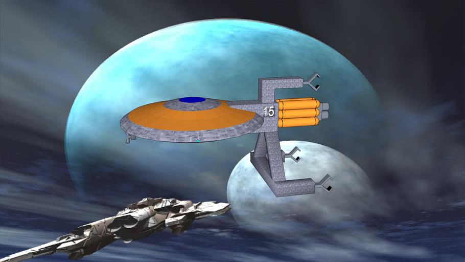 Zero-G Majestix class Cargo Hauler