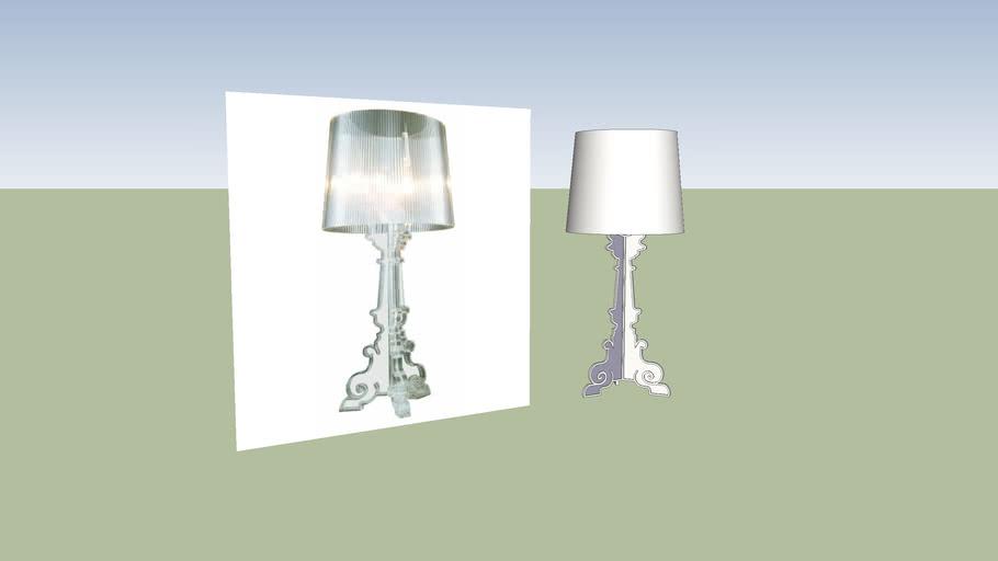 Bourgeoir lampe
