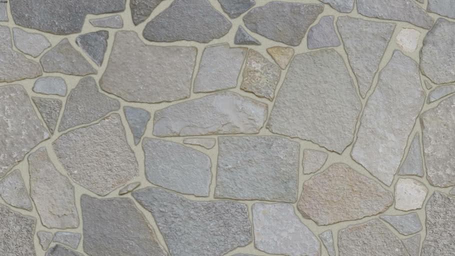 """Fond du Lac Webwall"" (Nantucket Joint) Seamless Natural Stone Veneer Material"