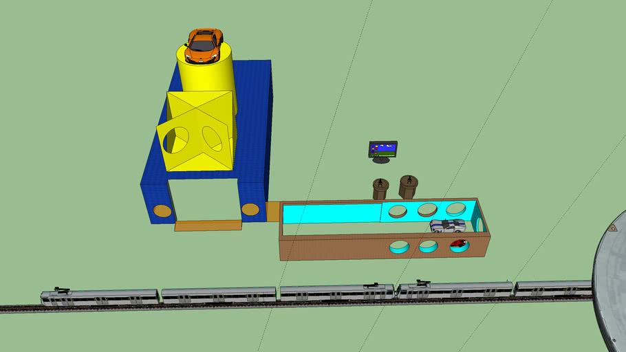 hose model 2: hose of cars