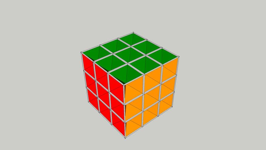 Imploding Frubix Cube