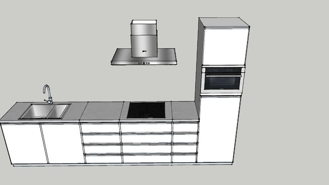 Betere Ikea TJUSIG kapstok | 3D Warehouse AP-33