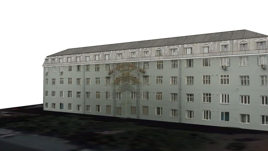 Russia,   Moscow, Anan'evskij Lane 5, building 6