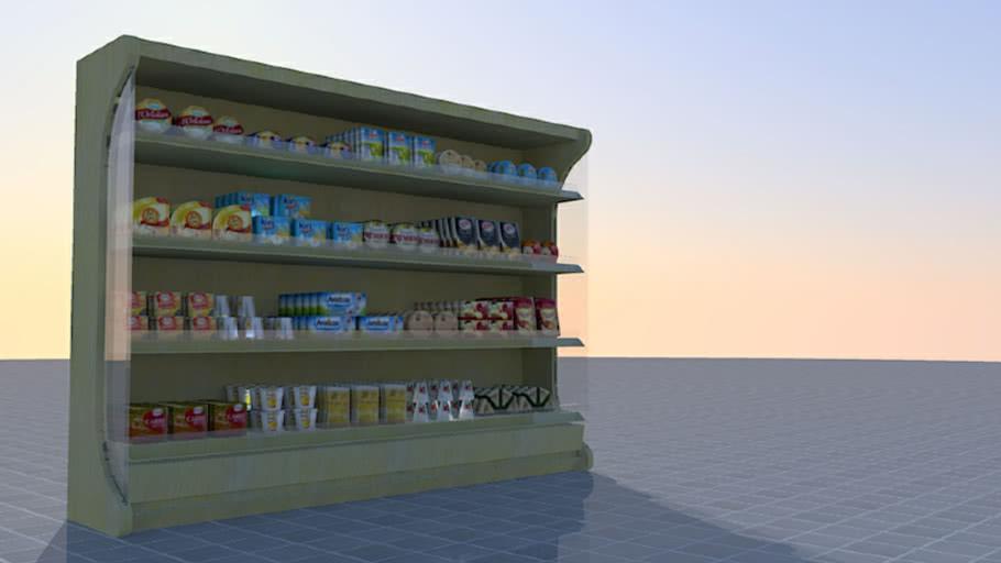 Cheese department (supermarket)