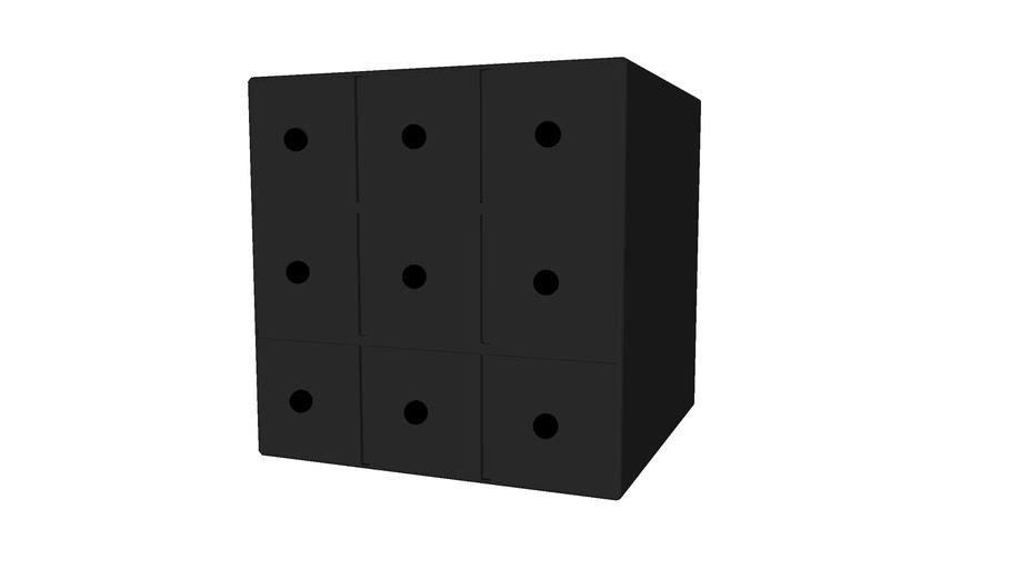 Flötotto Container 40 x 40 mit 9 Schubkästen
