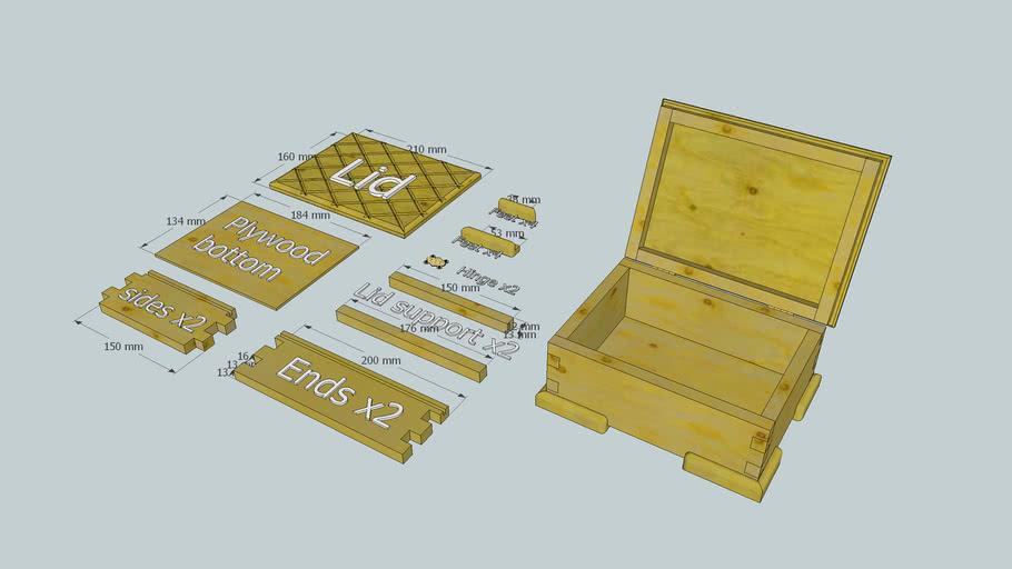 Jewelry box components