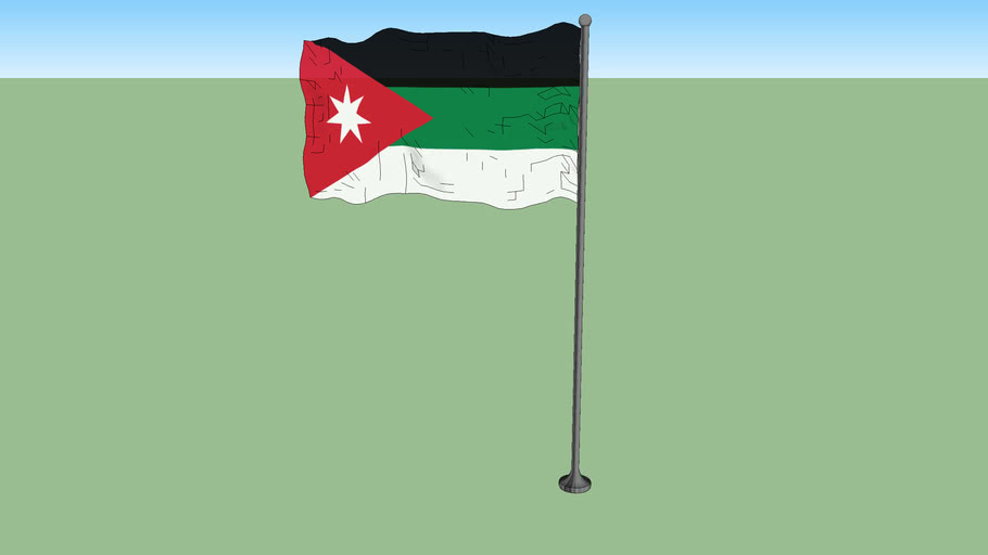 Flag of the Arab Kingdom of Syria (1920)