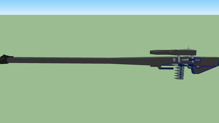 UNSC expolsive round 4mm dia. sniper rifle