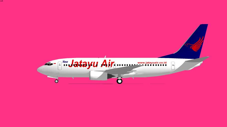 Jatayu Airlines Boeing 737-400 3