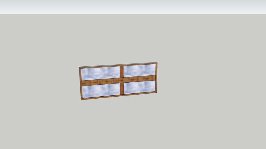 4 lane landscape window