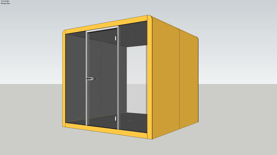 Silen Space 4 Mango Office Pod
