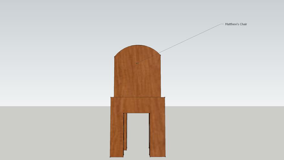 Matthew's Chair