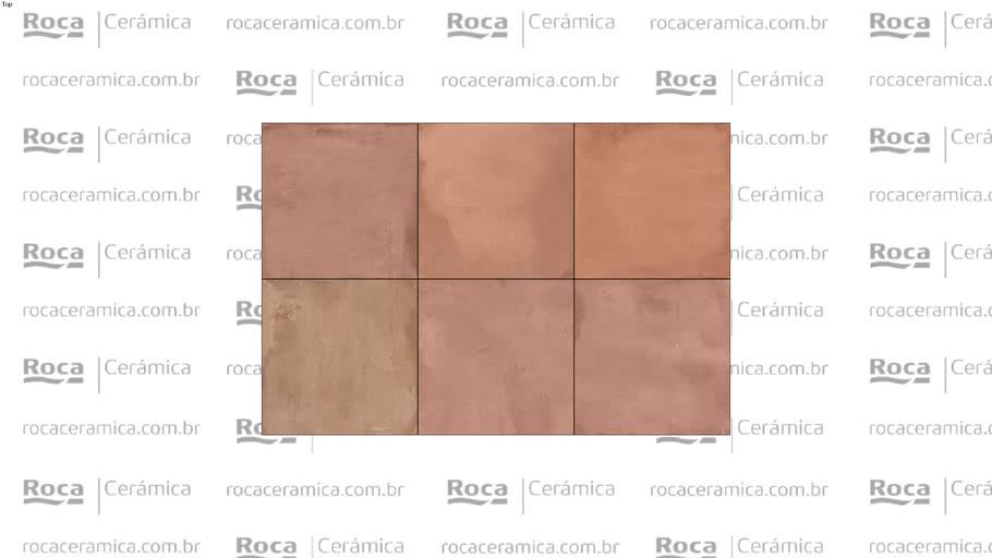 ROCA - LM COTTO ROSSO MC 120X120 R
