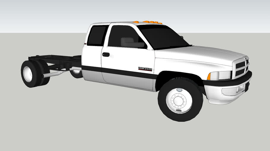 2002 Dodge Ram 3500 Dually Cab & Chassis