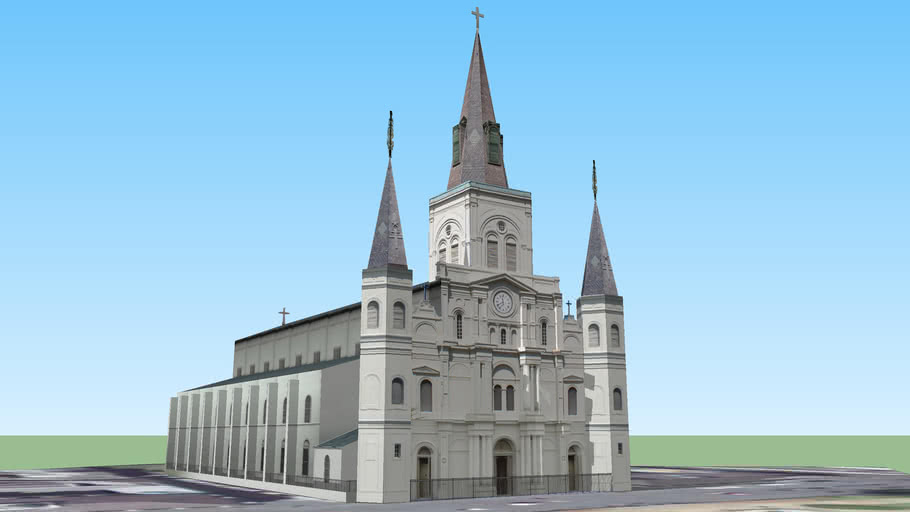 St. Louis Cathedral of New Orleans