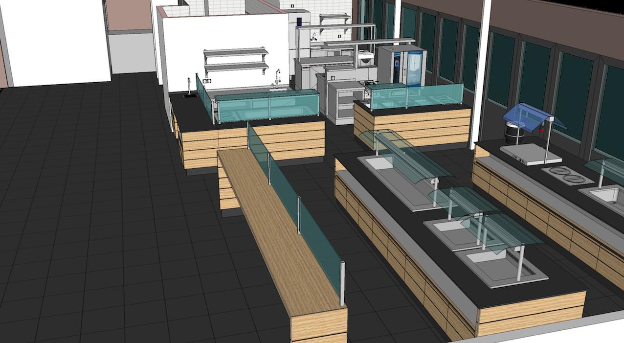 Cuisine Professionnelle 3d Warehouse