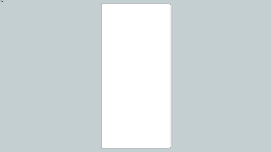 Bullnose - 3x6 Long Side