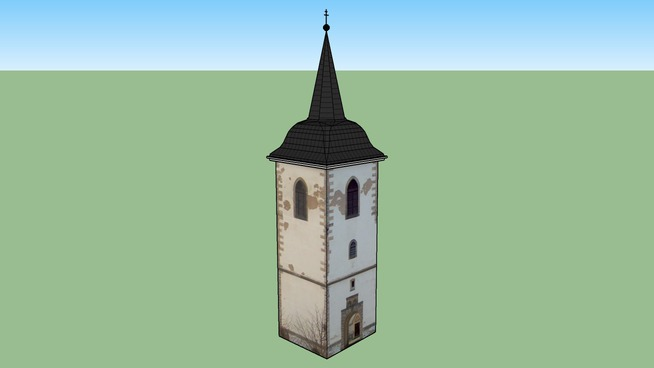 zvonice v Miletíně