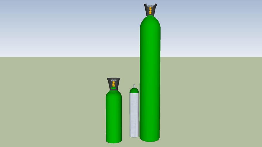 cilindros tanque de oxigenos