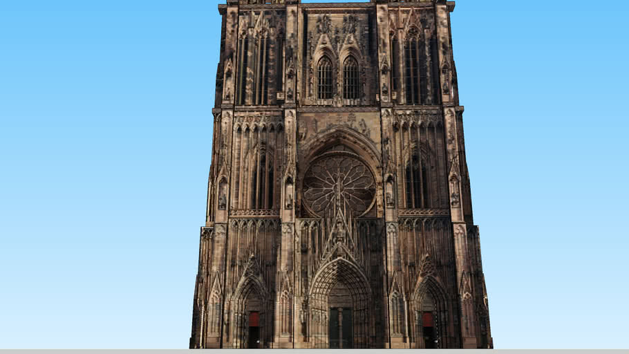 Strasbourg Cathedral Concept/Reims rosace