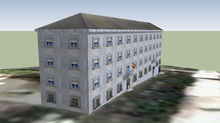 Comisaría da policía Nacional, Lugo
