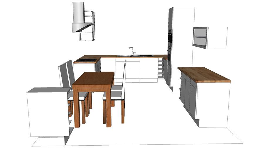 Cuisine Faktum Ikea 3d Warehouse