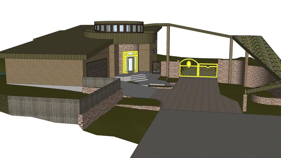 Modern Farm Gate House