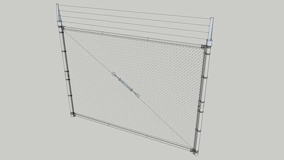 Chain Link Gate Panel