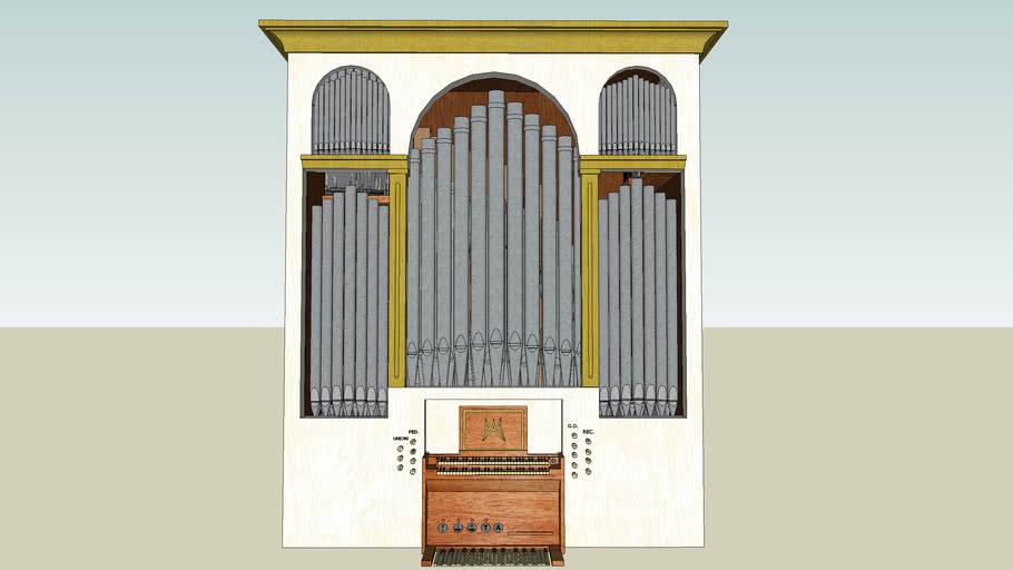 Progetto di un organo per la Pieve della SS. Annunziata, Montisi