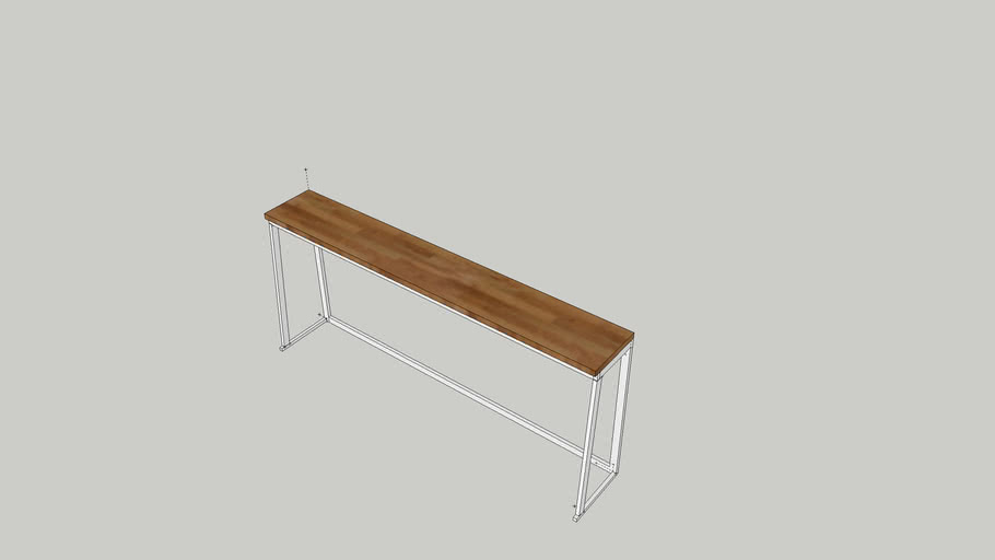 SHORT WINDOW COUNTER TABLE