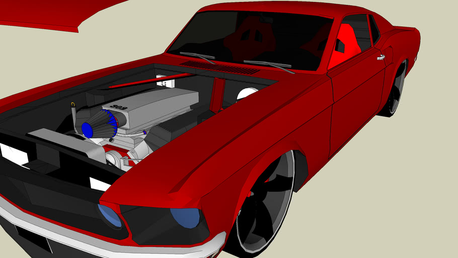1969 Ford Mustang Modified