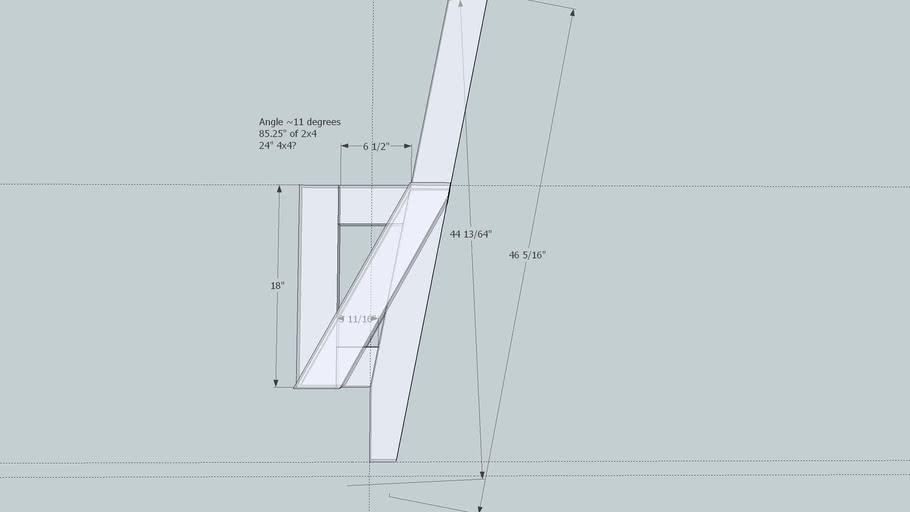 Deck Bench Bracket 3