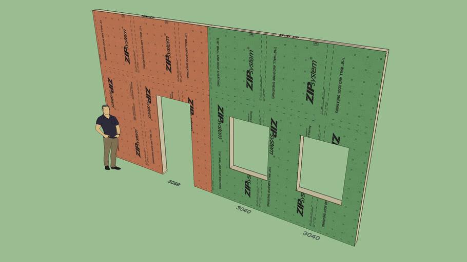 Zip System Wall Sheathing (Vert.)