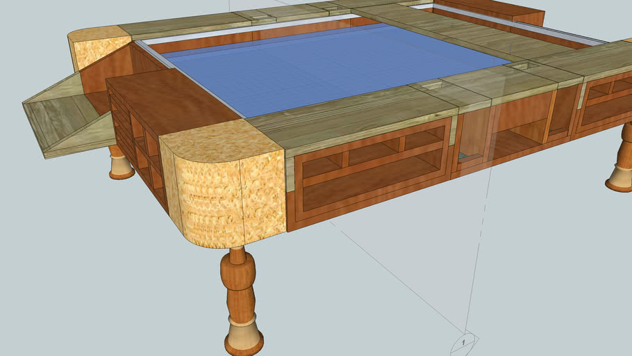 Mesa de Juegos de tablero / Gaming Table