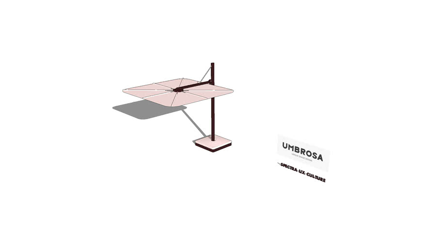 SPECTRA UX CULTURE Freestanding Umbrella By Umbrosa