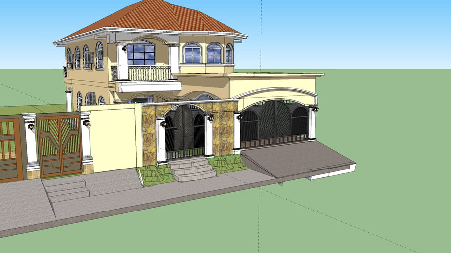 W.A.P design casa 2 niveles Alatamira