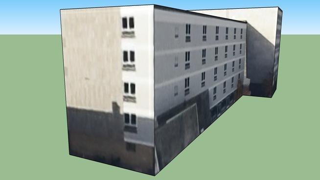 Edificio in Norimberga, Germania GL