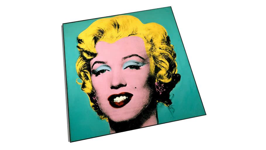 Painting - Marilyn Monroe by Warhol
