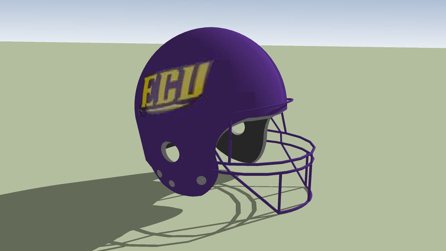 East Carolina Pirates football helmet