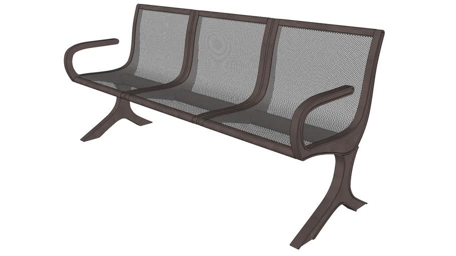 Mix 3 Seat Bench