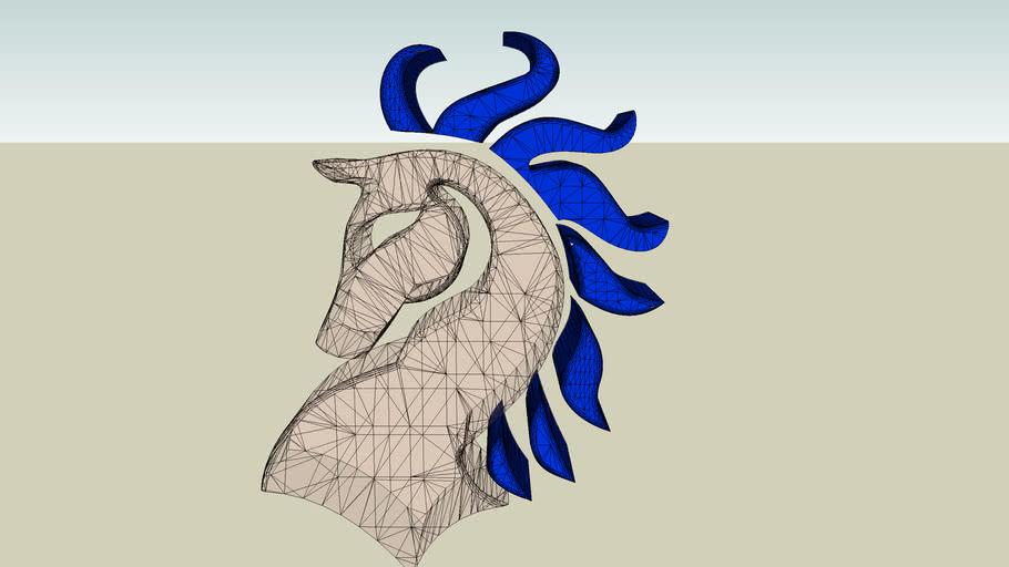 caballo de vidrio