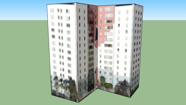 洛杉矶, 加利福尼亚州, 美国的建筑模型