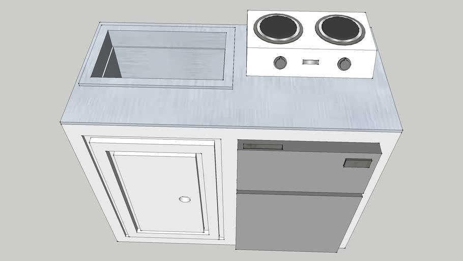 Mini Kitchen Set Up 3d Warehouse