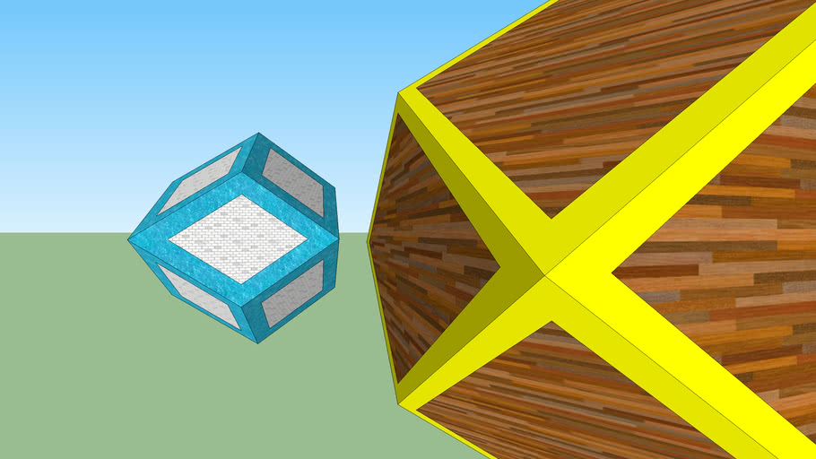 Miranda - Dodecaedro rombico