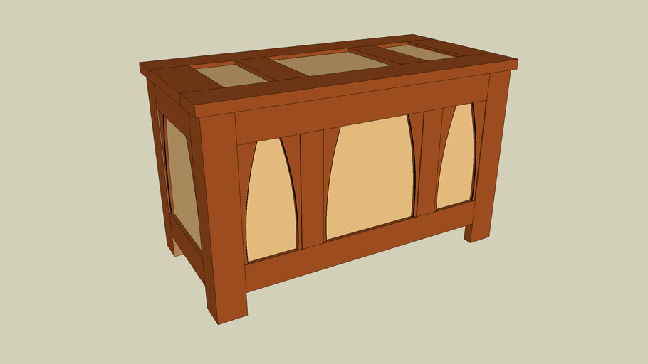 Stickley Bridal Chest from Popular Woodworking November 2005 issue