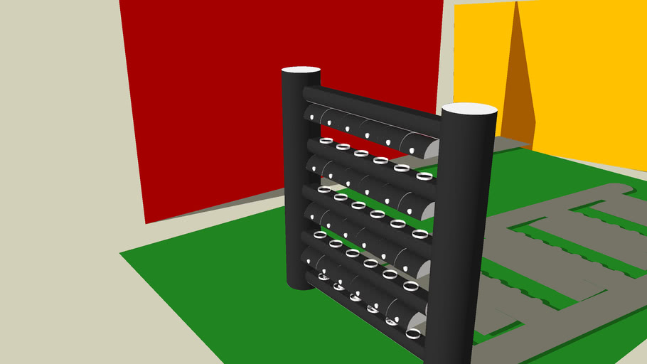 Hydroponic Garden Design(to be made with PVC)