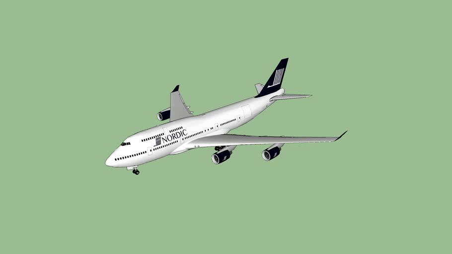 Nordic 747-400M Combi